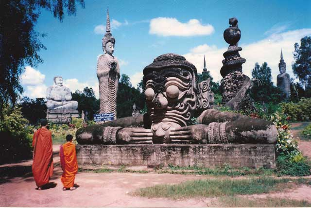 Thailand Buddhist World Eater